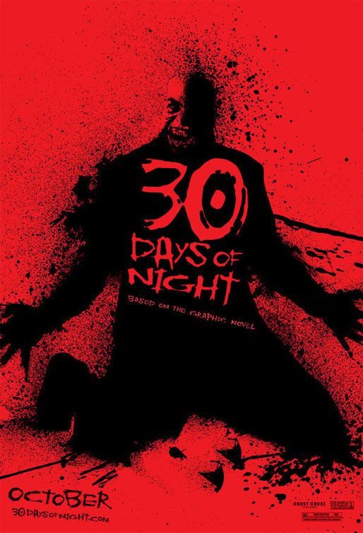 30 days of night Forget the weary, bedraggled victims — even the undead look like they're pining  for a good long nap in 30 days of night adapted from a horror.