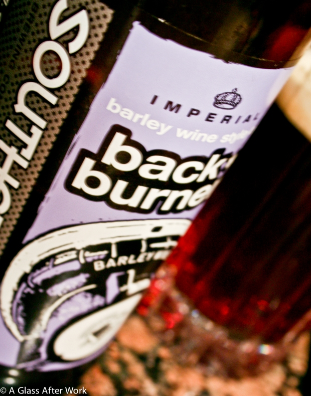 Southern Tier Brewing Company Back Burner Barley Wine Style Impe
