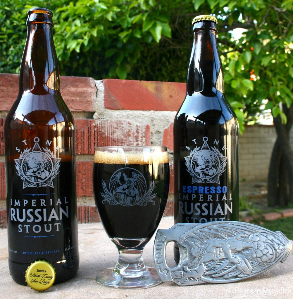 Stone Brewing Co  'Espresso Imperial Russian Stout' Beer Review