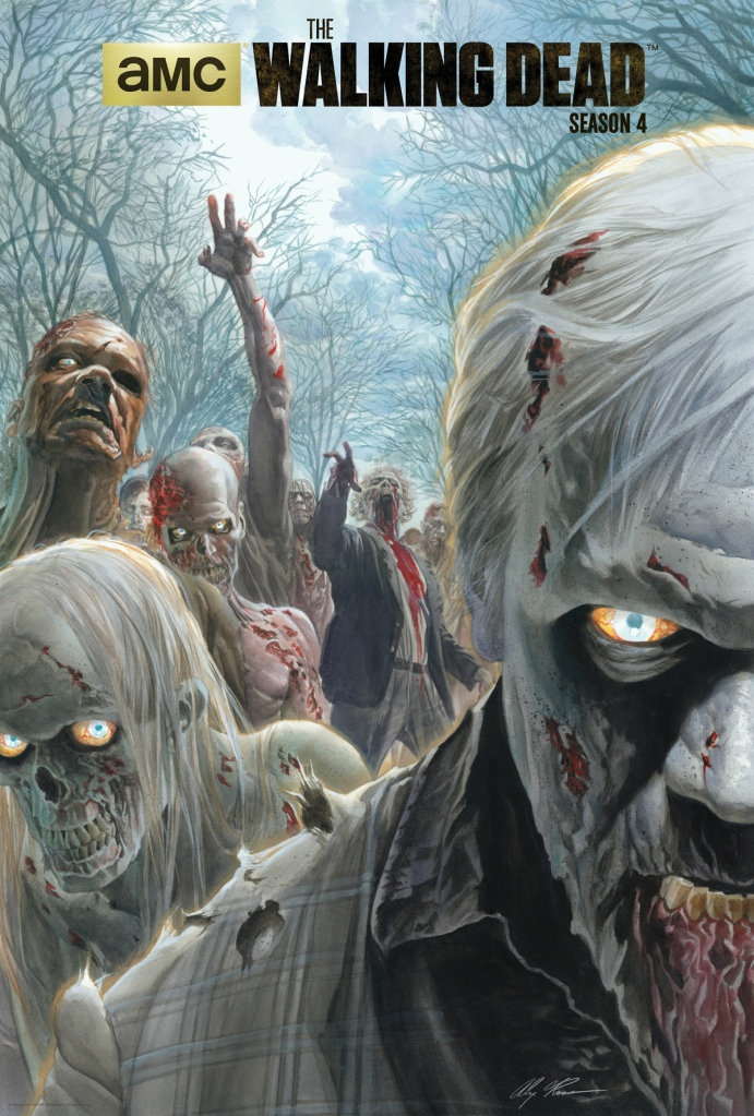 Exclusive Alex Ross Comic Con '13 Poster for 'The Walking ...