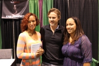 Sam and fans