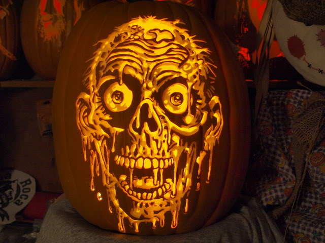 Halloween intricate awesome jack o lantern designs