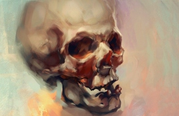 painted_skull_by_icecoldart-d3ikiqt