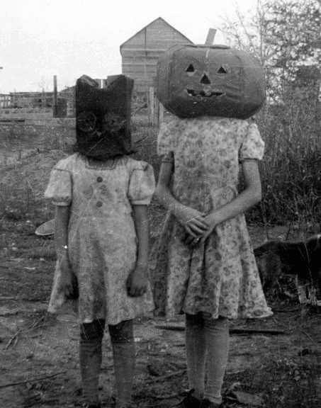 old school Halloween